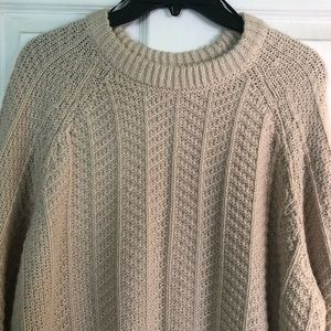 Woven Sweater (H&M Large)